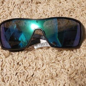Oakley Offshoot Green Black Sunglasses